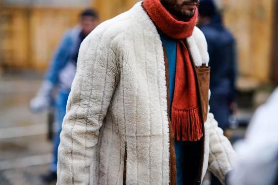 冬季必备摇粒绒 保暖又让你酷帅有型